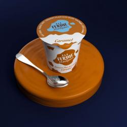 Dessert flan vanille caramel